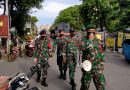 Serda Satria Pimpin Pasukan BKO Patroli Protkes Pasar Serdang