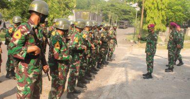 Taruna AAL Laksanakan Lattek Kesenjataan di Yontankfib 2 Mar