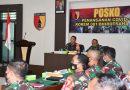 Korem 081/DSJ Terima Tim Pemantauan dari Itjen TNI