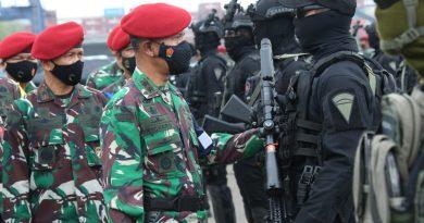 Dankoopssus : TNI Tidak Akan Biarkan Aksi Terorisme Ancam Kehidupan Masyarakat