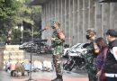 Jajaran Kodim 0501/ JP BS Lakukan Penyemprotan Disinfektan di Mesjid Istiqlal