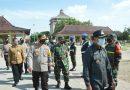 Dandim 0802/Ponorogo Hadiri Apel Pengamanan Pemilukada Kabupaten Ponorogo Tahun 2020