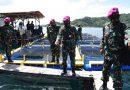 Dankormar Kunjungi Program Ketahanan Pangan Marinir di Lampung