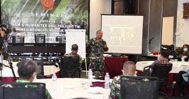 Babinkum TNI Gelar Seminar HAM dan Hukum Humaniter Bagi Prajurit