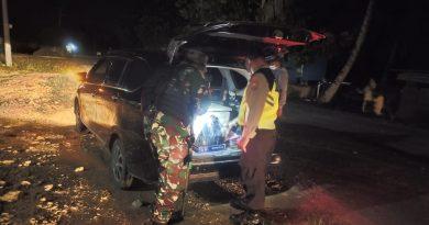 Satgas Yonif MR 413 Kostrad dan Polri Sweeping  Kampung Koya Karang