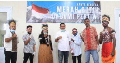 Sinergi Anak Negeri, Pemuda Papua Pimpin Deklarasi Keutuhan NKRI