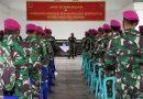 Komandan Resimen Artileri 2 Marinir Profesional Pimpin Jam Komandan