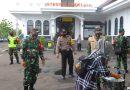 Jajaran Kodim 0805/Ngawi Terus Ingatkan Masyarakat  Patuhi Protokol Kesehatan