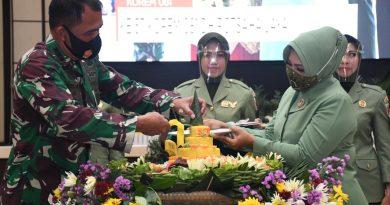 Acara Puncak Peringatan HUT ke-57 Korem 081/DSJ
