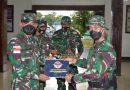 Danrem Merauke Pimpin Serah Terima Satgas Pamrahwan di Wilayah Mimika