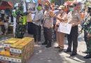 Danramil 05/Tanah Abang Serahkan Bantuan Sembako Kepada Warga Korban Kebakaran di Petamburan