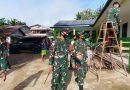 Tim Ster TNI Tinjau Giat Binter Satgas Yonif 642/Kapuas