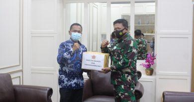 Pangkogabwilhan I Kunjungi KPPN Tanjung Pinang