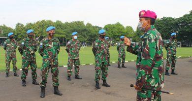 Danmenkav 2 Marinir Beri Pembekalan Prajurit Satgas Luar Negeri