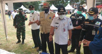 Danramil 05 TA Hadiri Simulasi Kampung Tangguh Bencana Kota Administrasi Jakarta Pusat
