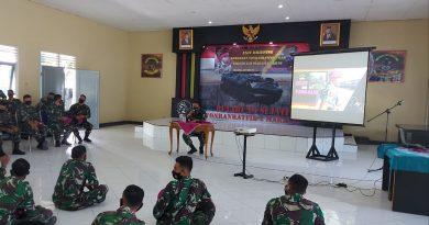 Exit Briefing Komandan  Yonranratfib 2 Mar