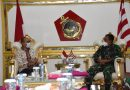 Kunjungi Dankormar  Ketua PB PABBSI Apresiasi Support Korps Marinir