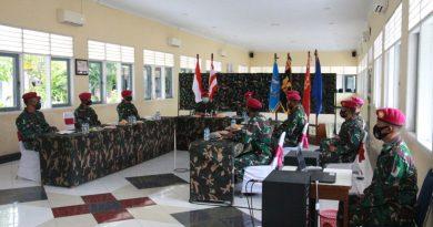 Tour Facility dan Memorandum Jelang Sertijab  Danyon Kapa 2 Marinir