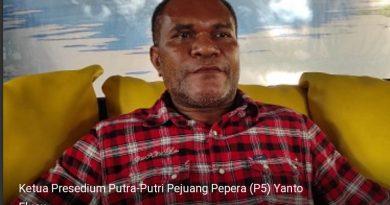 Ketua P5 : Beny Wenda Mendeklarasikan Dirinya Hanya Untuk Mencari Panggung