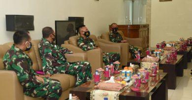 Wadan Korps Marinir Berikan Pengarahan Pada Tandik Sesko TNI Angkatan XLVII/2020