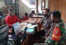 Komsos Saat Pandemi , Babinsa Kodim 0802/Ponorogo Ajak Perangkat Desa Selalu Jadi Pelopor 3M Terhadap Warga
