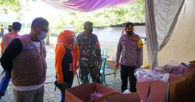 Dandim Ngawi Hadiri Pelepasan Pendistribusian Logistik Pemilu
