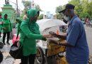 Jum'at Berkah, Persit KCK Cabang XIX Kodim Ngawi Berbagi Terhadap Sesama