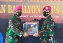 Pisah Dengan Senyuman Sambut Dengan Harapan, Mewarnai Rangkaian Serah Terima Jabatan Komandan Batalyon Kapa 2 Marinir