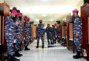 Pertahankan Tradisi TNI AL, Batalyon Kapa 2 Marinir Laksanakan Ronda Penutup