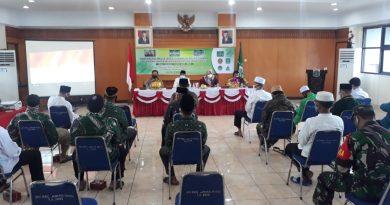 Danramil 08 JB Hadiri Konferensi Majelis Wakil Cabang Nahdlatul Ulama, Johar Baru