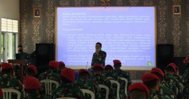 Penyuluhan Hukum Prajurit Batalyon Kapa 2 Mar Pasmar 2