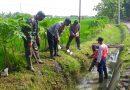 Koramil 11/Widodaren Bersama Masyarakat Laksanakan Gropyokan Tikus