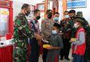 Peduli Terhadap Sesama Di Saat Pandemi Covid 19, Kodim 0805/Ngawi Beri Santunan Anak Yatim Piatu