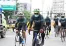 Danrem dan Tim Ojo Kendor Gowes Bareng Pangdam V/Brawijaya di Tulungagung