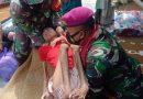 Di Banjarmasin Marinir Berhasil Evakuasi Korban dan Warga yang Sakit