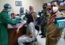 Dandim Jakarta Pusat Dukung Penyuntikan Vaksin Di Wilayah Dengan Terjunkan Babinsa Untuk Awasi Vaksinasi