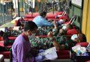 Bersama RSPAD, Kodim 0501/ JP BS Laksanakan Donor Darah