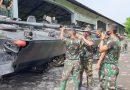 Yontankfib 2 Mar Pasmar 2 Cek Sistem Kendali Senjata Ranpur BMP 3F