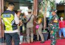 Babinsa 02 Sawah Besar Pantau Penetapan Teguran  Tertulis Hotel Traveller Yang Langgar PSBB
