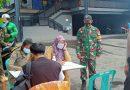 Operasi Yustisi Tertib Masker Terus Digelar di Wilayah Binaan Koramil 06 Cempaka Putih