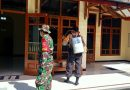 Upaya Nyata, Koramil Taman Beserta Forkopimcam Gelar Operasi Yustisi Dan Penyemprotan Disinfektan