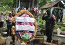 Kodim 0806/Trenggalek Selenggarakan Upacara Pemakaman Secara Militer Purnawirawan TNI AD