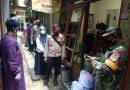 Babinsa Koramil 02/Sawah Besar Dampingi Petugas Lakukan Tracking Kontak Erat Pasien
