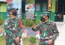 Dansatgas Pamtas RI-Malaysia Yonif 642/Kapuas Terima Kunjungan Pa Sahli Tk. II Kasad