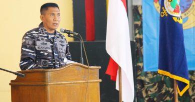 Komandan Resimen Kavaleri  2 Marinir Buka Rapat Anggota Primkopal ke 19 Tahun Buku 2020