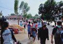 Satgas Penanggulangan Banjir Korps Marinir TNI AL tetap Siaga