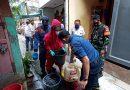 Upaya Sterilisasi Wilayah Oleh Babinsa Sawah Besar Bersama Tiga Pilar