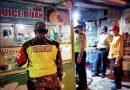 Bersama Bhabinkamtibmas, Anggota Koramil 01/Ngawi Laksanakan Patroli Malam