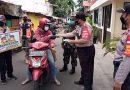 Kampanye Jakarta Bermasker di Wilayah Tanah Abang