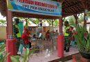 Pastikan Berjalan Aman Dan Lancar, Anggota Koramil 06/Kwadungan Dampingi Pelaksanaan Vaksinasi